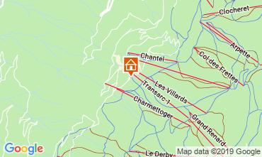 Kaart Les Arcs Appartement 57958
