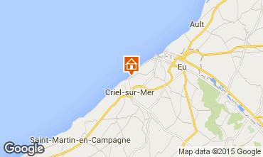 Kaart Le Tréport Huis 7738