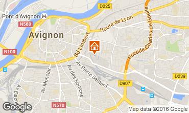 Kaart Avignon Studio 59338