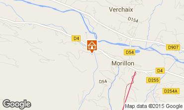 Kaart Morillon Grand Massif Chalet 83014