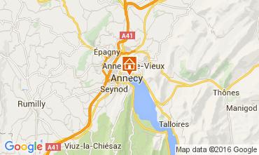 Kaart Annecy Appartement 106034