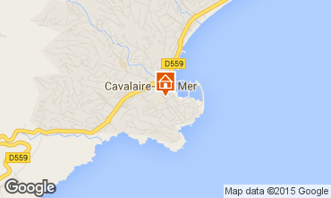 Kaart Cavalaire-sur-Mer Appartement 82294