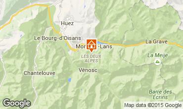 Kaart Les 2 Alpes Appartement 87167