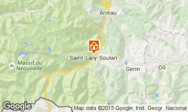 Kaart Saint Lary Soulan Studio 80914