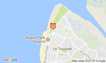 Kaart Le Touquet Studio 104169