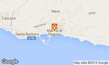 Kaart Marina di Ragusa Villa 81007