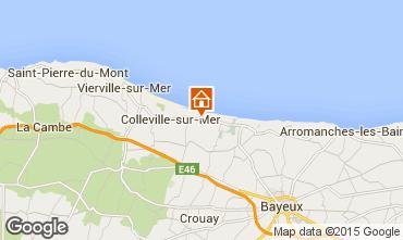 Kaart Arromanches Vakantiehuis 36408