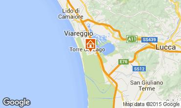 Kaart Viareggio Huis 70340