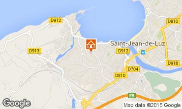 Kaart Saint Jean de Luz Appartement 9309