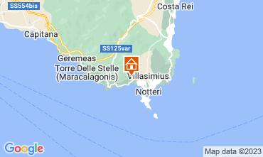 Kaart Villasimius Villa 116186