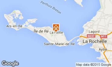 Kaart La Flotte en Ré Villa 75537