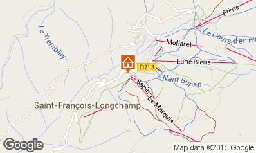 Kaart Saint François Longchamp Appartement 74101