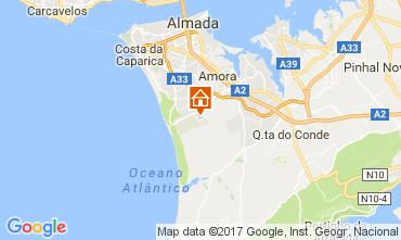 Kaart Lissabon Villa 109982