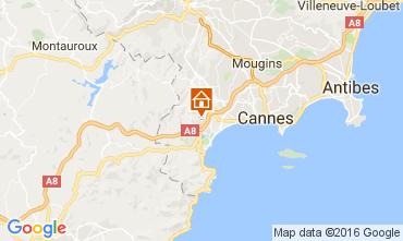 Kaart Mandelieu la Napoule Appartement 107349
