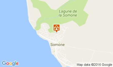 Kaart La Somone Studio 102027