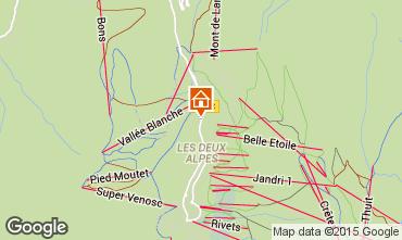 Kaart Les 2 Alpes Appartement 85753