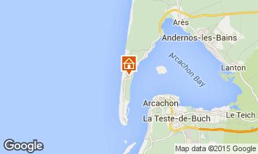 Kaart Cap Ferret Villa 80533
