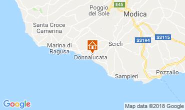 Kaart Donnalucata Appartement 88164