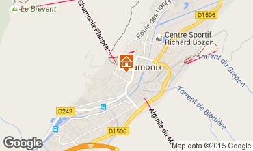 Kaart Chamonix Mont-Blanc Appartement 669