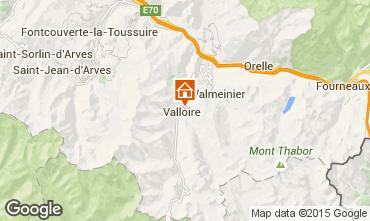 Kaart Valloire Chalet 27264