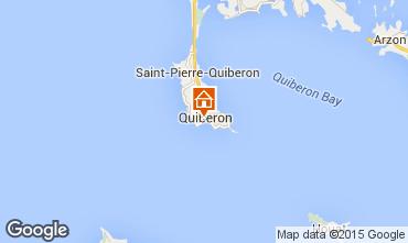 Kaart Quiberon Appartement 51150