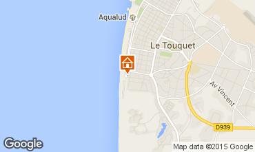 Kaart Le Touquet Appartement 96150