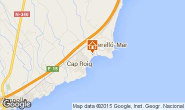 Kaart L'Ampolla Villa 94907