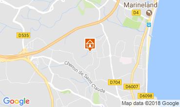 Kaart Antibes Appartement 113971