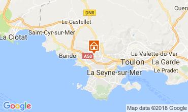 Kaart Sanary Villa 114363