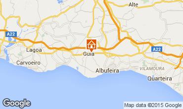 Kaart Albufeira Villa 82023