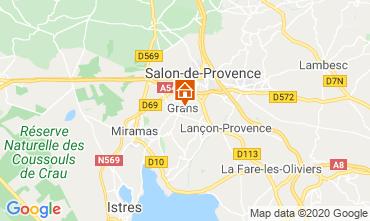 Kaart Salon de Provence Vakantiehuis 12967
