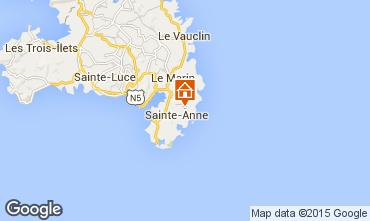 Kaart Sainte Anne (Martinique) Huis 62844