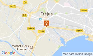 Kaart Fréjus Studio 105544