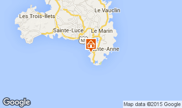 Kaart Sainte Anne (Martinique) Studio 54186