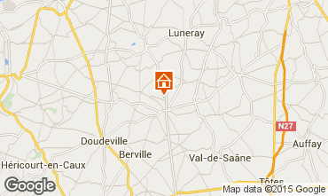 Kaart Saint Valéry en Caux Huis 11925