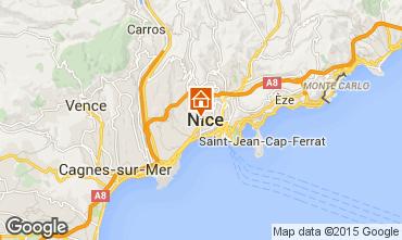Kaart Nice Appartement 93560