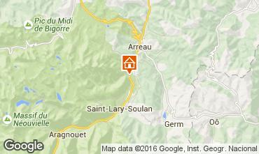 Kaart Saint Lary Soulan Huis 102631