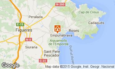 Kaart Empuriabrava Villa 60583