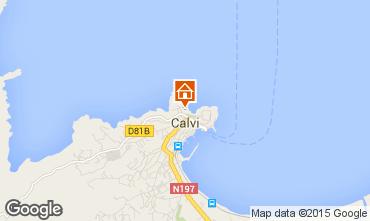 Kaart Calvi Studio 85474