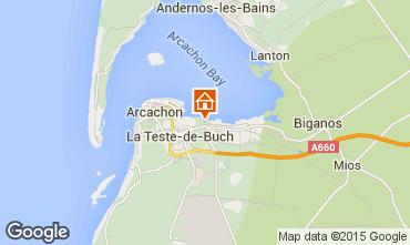 Kaart Arcachon Huis 61302
