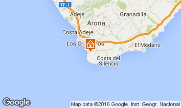 Kaart Los Cristianos Appartement 103043