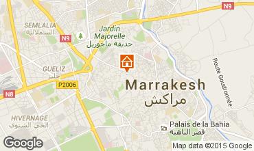 Kaart Marrakech Huis 28351