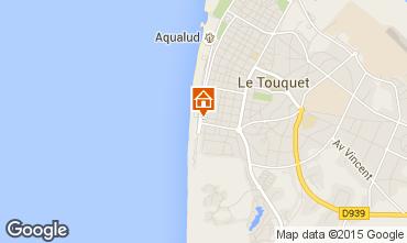 Kaart Le Touquet Appartement 84476