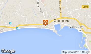 Kaart Cannes Appartement 66651