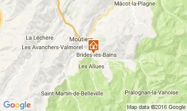 Kaart Brides Les Bains Studio 106467
