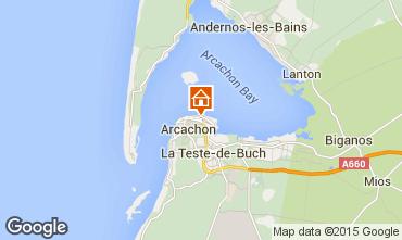 Kaart Arcachon Studio 81586