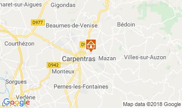 Kaart Carpentras Huis 117417