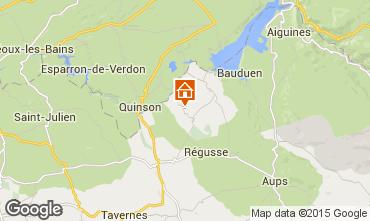 Kaart Artignosc-sur-Verdon Huis 65147