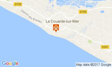Kaart La Couarde-sur-Mer Appartement 81402