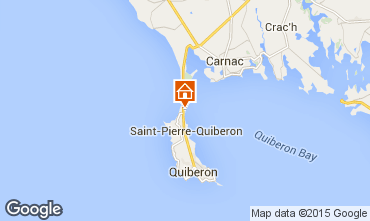 Kaart Quiberon Villa 74926